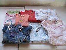 Lot de 7 vêtements bébé fille 6 mois, très bon état, différentes marques