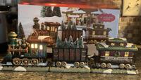 St. Nicholas Square® Village Set of 3 Ceramic Train Set