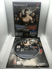 WWE Smackdown vs. Raw 2010 - Wrestling - Complete CIB -Playstation 2 PS2