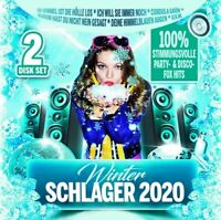 WINTER SCHLAGER 2020  2 CD NEU