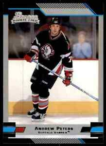 2003-04 Bowman Andrew Peters Rookie #133