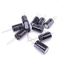 105℃ Radial 25 x 50mm US Stock 2pcs Electrolytic Capacitors 3300uF 3300mfd 100V