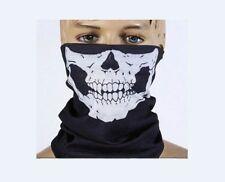 LOTE   10   Braga calavera, pañuelo, esqueleto bufanda cuello abrigo