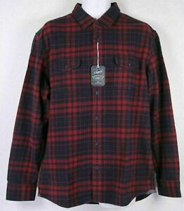 Grayers Men's Heritage Flannel Long Sleeve Shirt, Colors/Sizes, NWT