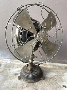 RARE OLD General Electric GE Oscilator electric Fan Pancake