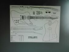 Firebird Body and neck ,pickguard,  back cover included , D H L Shipping