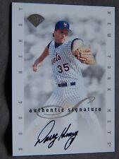 New York Mets Doug Henry 1996 Leaf Signature Series Auto Card
