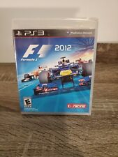 F1 2012 - Formula One Indy - PlayStation 3 - PS3 RARE 💎 FREE SHIPPING!!