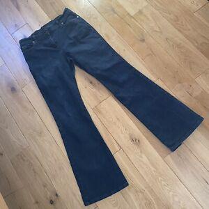 Marks & Spencer Size 12 Blue Flare Stretch Jeans