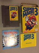 Super Mario 3 Nintendo NES Game Complete CIB Cartridge Instructions Box