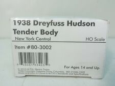 1938 New York Central Railroad Dreyfuss Hudson Coal Tender Body MTH 80-3002 HO