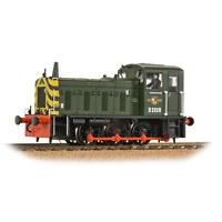 Bachmann 31-361B Class 03 D2028 BR Green w/Wasp Stripes OO Gauge
