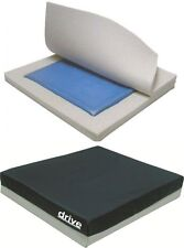 """4"""" Waterproof Gel Seat Pressure Cushion - Ideal For Wheelchairs & Armchairs"""