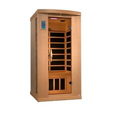 2020 Model Dynamic 1-2 Person Near Zero EMF FAR Infrared Sauna 6 Heaters NEW!