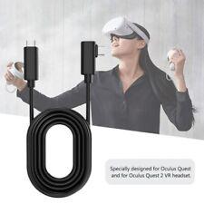 Schwarz PC VR Spiel USB3.2 Daten Kabel Für Oculus Quest 2 / Link VR Spiele Kits.