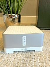 SONOS CONNECT:AMP DIGITAL MEDIA STREAMER WHITE EXCELLENT!