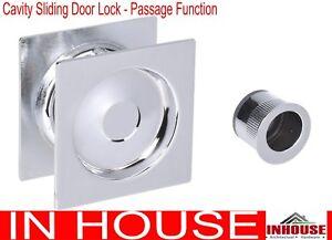 2x 3x 4x cavity sliding door lock passage function Free Shipping sq cp