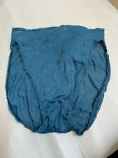 New Vintage Bali Nylon Panties Blue Style 2433 Size 5 Assembled In Mexico (P1)