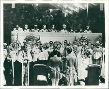 1937 King George VI During Coronation Original News Service Photo