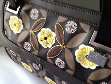 NWT Petunia Pickle Bottom Pretty JAVA Soho Satchel Convertible Shoulder Bag $189