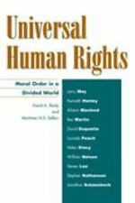 Universal Human Rights: Moral Order in a Divided World (Philosophy and-ExLibrary
