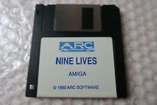 Nine Lives A ARC Game for the Amiga Computer tested & working