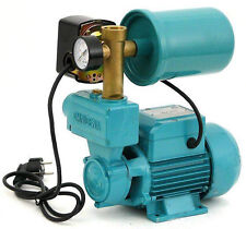 Wasserpumpe 250W 2l Druckbehälter Gartenpumpe Hauswasserwerk Set