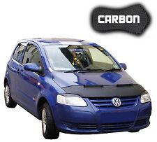 Haubenbra VW FOX CARBON Hood Bonnet Bra Steinschlagschutz Front Mask Cover