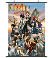 4257 FAIRY TAIL the Movie Houou no Miko Anime manga wall Poster Scroll