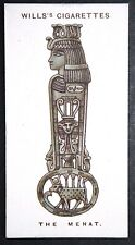 MENAT   Egyptian Female Magical Charm   Vintage 1920's Card ## VGC