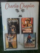 New Charlie Chaplin City Lights/The Great Dictator/Modern Times/The Gold Rush.