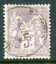 Classique de France Sage N° 95 oblitéré cachet à date léger TB , cote: 90€