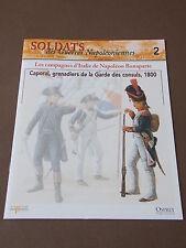 Fascicule N°2 Del Prado Soldat Guerre Napoléon Grenadier Garde des Consuls 1810