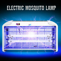 UV Night Lamp Electric Control Fly Bug Insect Trap Zapper Pest Mosquito Killer