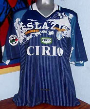 UMBRO SS LAZIO AWAY 1997 SERIE A NEDVED ORIGINAL JERSEY SHIRT