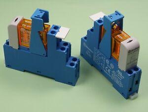 48.61.8.230.4060 - Finder Koppel Relais 230V AC 1 Wechsler 16A AgSnO2 Kontakt