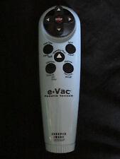 The Sharper Image eVac Robotic Vacuum Replacement Remote Control e-Vac Blue