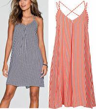 Süsses Kleid Strandkleid weiß/rot gestreift Gr.50 Neu 933063