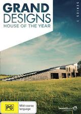 GRAND DESIGNS :HOUSE OF THE YEAR : SEASON 1 -  DVD - REGION 4 - SEALED