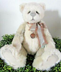 Charlie Bears: GORGONZOLA...a gorgeous mohair & alpaca bear