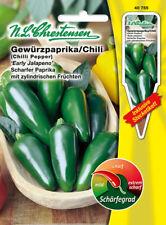40755 Chili´Early Jalapeno ´ Mischung  Gewürzpaprika  scharf Saatgut Paprika