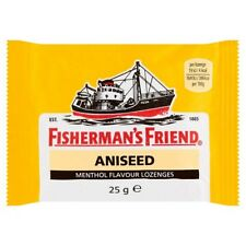 FISHERMAN`S FRIEND ANISEED MENTHOL FLAVOUR LOZENGES - 25G *