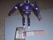 Hasbro Transformers Vintage G1 Shockwave near complete please read working elec