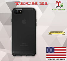Tech21 Evo Elite Case Cover for Apple iPhone 8 & iPhone 7 Brushed Black