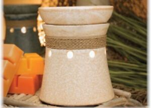 Scentsy Hatteras Open Box Display Deluxe Warmer Wax Home Decor Beachy