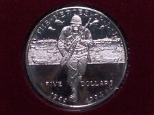 1992 Marshall Islands The Heroes of D-Day Five Dollar Proof!