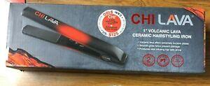 "CHI Lava 1"" Volcanic Lava Ceramic Hairstyling Iron GF8269S BRAND NEW"