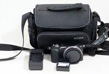 Sony Alpha NEX-3N 16.1 MP Digital Camera Black Body ONLY 2K SHUTTER COUNT