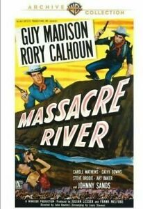MASSACRE RIVER - Guy Madison Warner Archive Collection- R1 DVD R