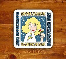 Babycham retro cocktail 'Beermat' - coaster